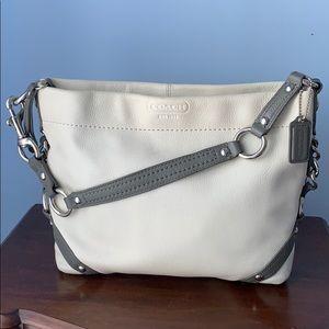Coach leather hobo shoulder bag